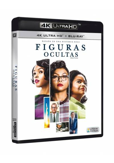 Figuras Ocultas (4K Ultra HD + Blu-ray) (Hidden Figures)