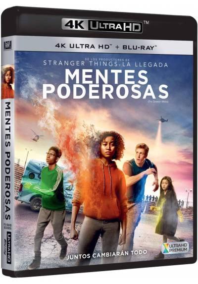 Mentes poderosas (4K Ultra HD + Blu-ray) (The Darkest Minds)