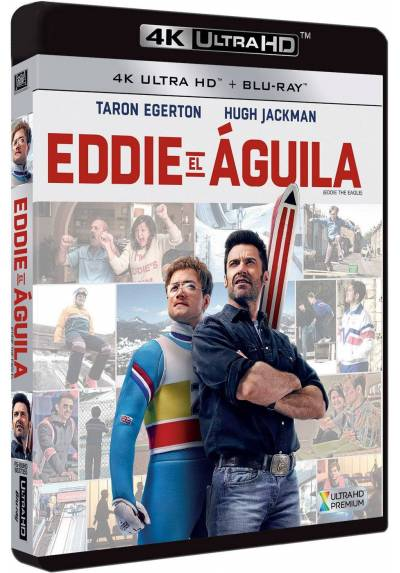 copy of Eddie El Aguila (Blu-Ray) (Eddie The Eagle)