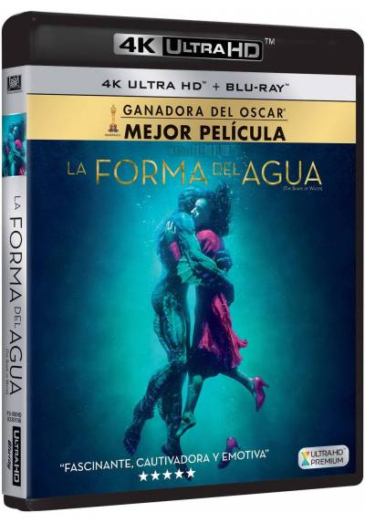 copy of La Forma Del Agua (Blu-Ray) (The Shape Of Water)