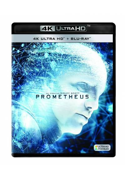 Prometheus (4K Ultra HD + Blu-ray)