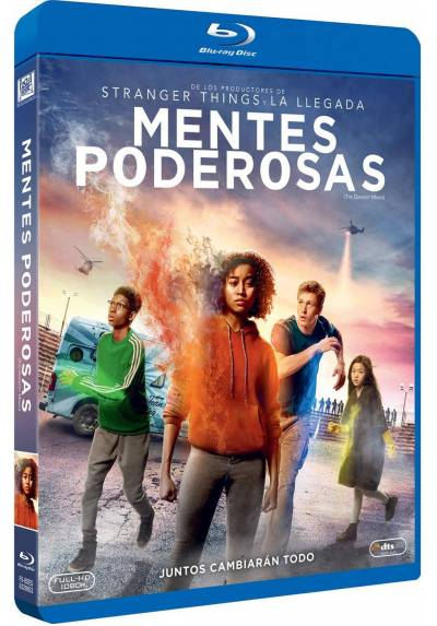 Mentes poderosas (Blu-ray) (The Darkest Minds)