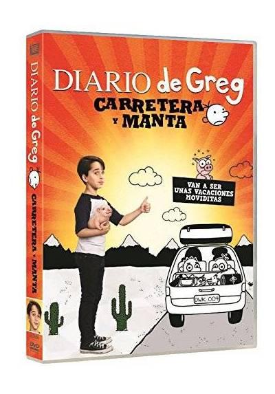 copy of Diario De Greg: Carretera Y Manta (Blu-Ray) (Diary Of A Wimpy Kid: The Long Haul)