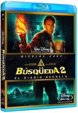 La Busqueda 2: El diario secreto (Blu-ray) (National Treasure: Book of Secrets)