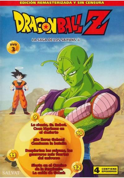 Dragon Ball Z - La Saga de los Saiyans (DVD 3)