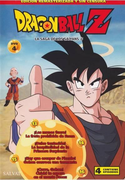 Dragon Ball Z - La Saga de los Saiyans (DVD 4)