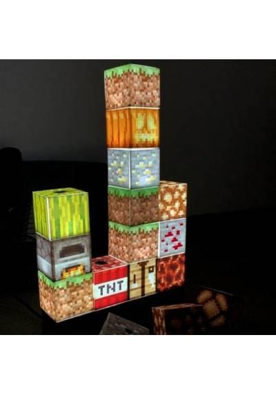 Lampara Edificio de Bloques - Minecraft