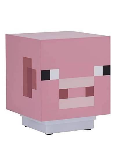 Lampara Mini Pig Light con sonido - Minecraft
