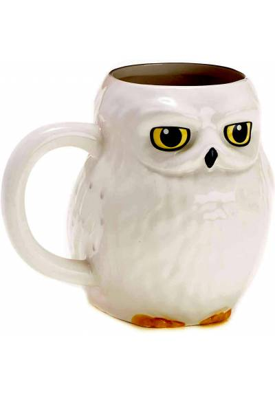 Taza 3D Buho Hedwig - Harry Potter