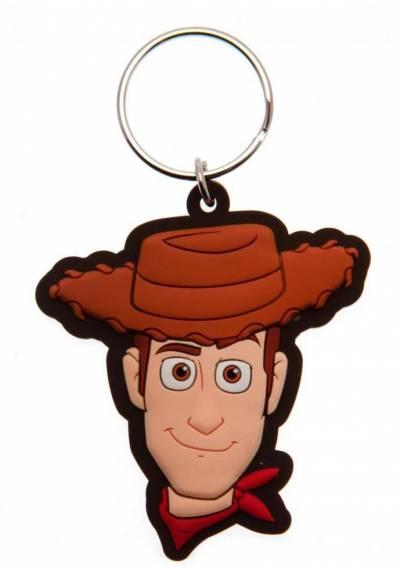 Llavero de goma Woody - Toy Story