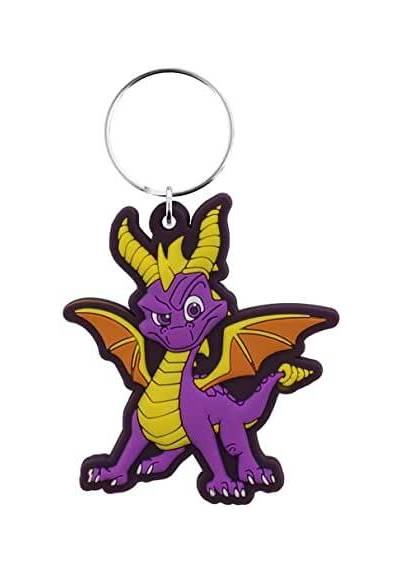 Llavero de goma Dragon - Spyro