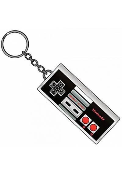 Llavero Metalico Mando Nintendo