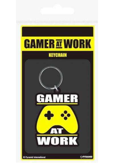 Llavero Gamer At Work Gaming