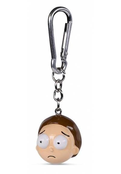 Llavero 3D Morty - Rick and Morty
