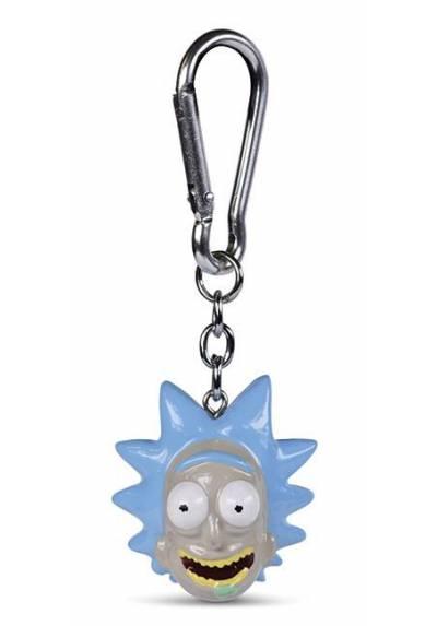 Llavero 3D Rick - Rick and Morty