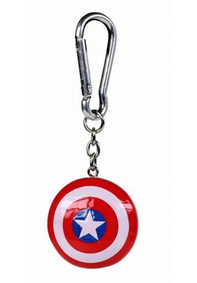 Llavero 3D Escudo Captain America