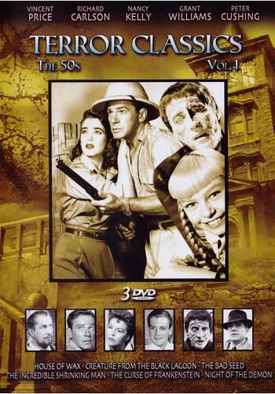 Pack Clasicos del Terror Años 50 - Vol. 1 (Caratula en Ingles)