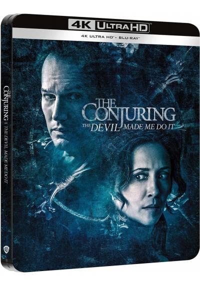 Expediente Warren: Obligado por el demonio (Steelbook - 4k UHD - Blu-ray) (The Conjuring: The Devil Made Me Do It)
