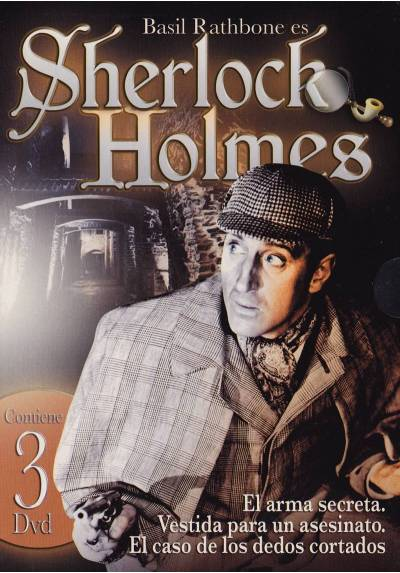 Pack Sherlock Holmes (3 DVD)