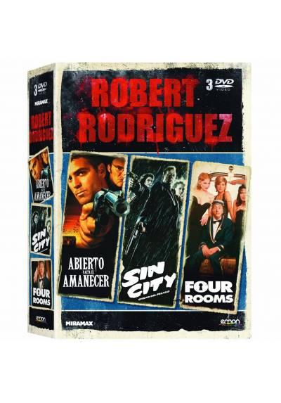 copy of Robert Rodriguez : Abierto Hasta El Amanecer / Sin City / Four Rooms (Blu-Ray)