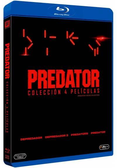 Predator - Coleccion 4 Películas (Blu-Ray)