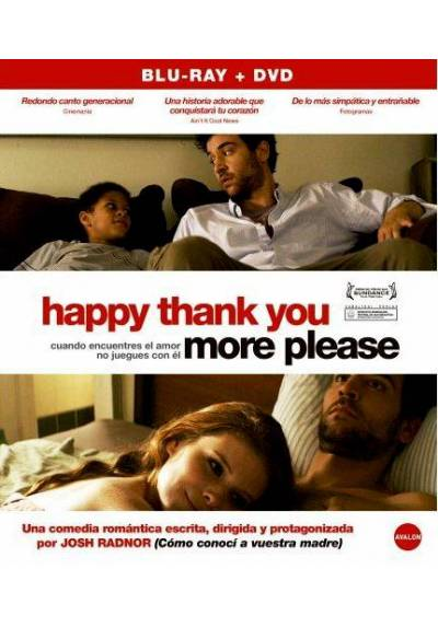 Happy Thank You More Please (Blu-Ray)
