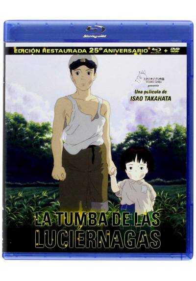 La Tumba De Las Luciernagas (Blu-Ray + Dvd) (Hotaru No Haka)
