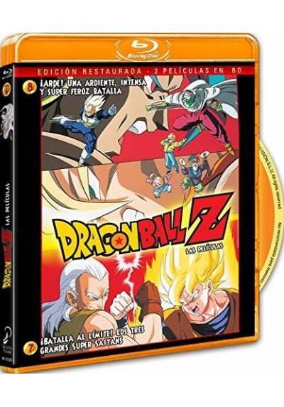 Pack Dragon Ball Z - Las Peliculas 7 y 8 (Blu-ray)