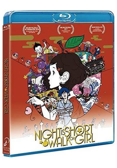 Night Is Short, Walk On Girl (Blu-ray) (Yoru wa Mijikashi Arukeyo Otome)