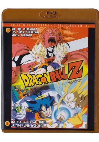 Pack Dragon Ball Z - Las Peliculas 9 y 10 (Blu-ray)