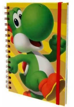 Cuaderno A5 de notas Yoshi Wiro - Super Mario