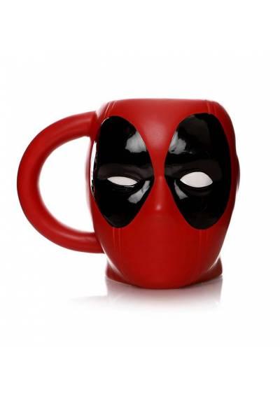 Taza 3D Cabeza Deadpool - Marvel