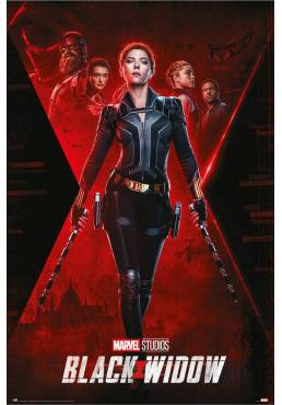 Poster Viuda Negra (Black Widow) - Marvel (POSTER 61 x 91,5)