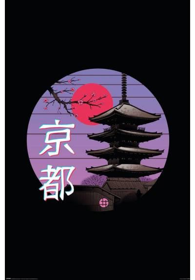 Poster Kyoto Wave - Vincent Trinidad  (POSTER 61 x 91,5)