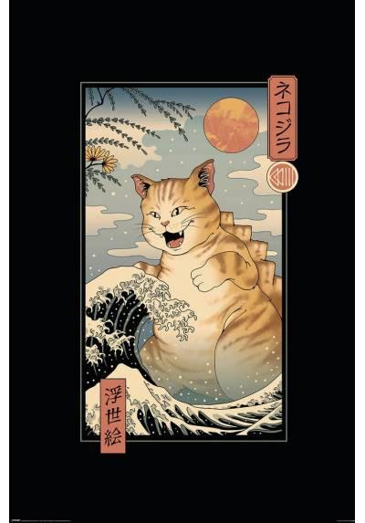 Poster Catzilla - Vincent Trinidad (POSTER 61 x 91,5)