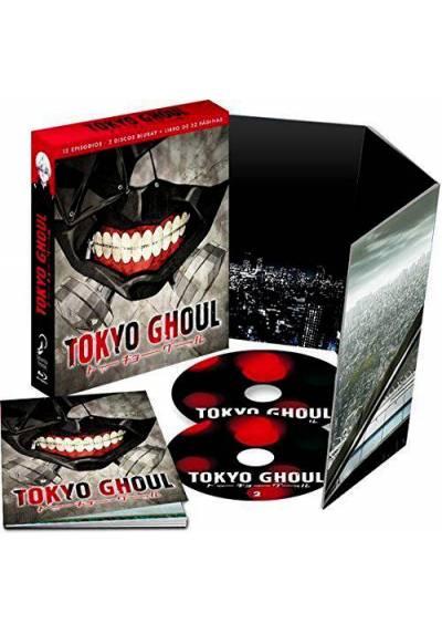 Tokyo Ghoul - Episodios 1 A 12 (Blu-ray) Edicion Coleccionista