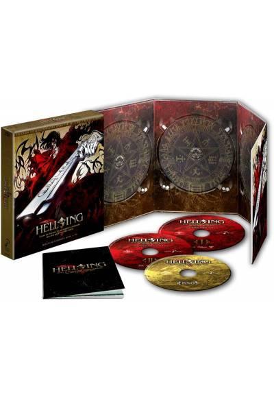 Hellsing Ultimate - Episodios 1 A 10 (Blu-ray) Edicion Coleccionista