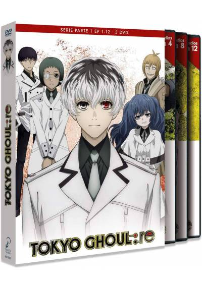 copy of Tokyo Ghoul: Re Ep 1-12 Parte 1 (Blu-Ray)