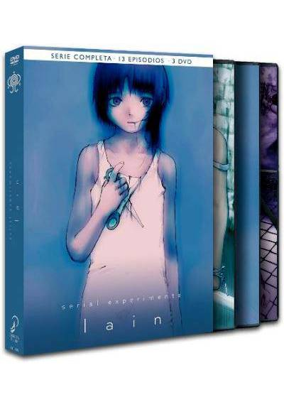 copy of Lain : Serial Experiments - Serie Completa (Ed. Integral)