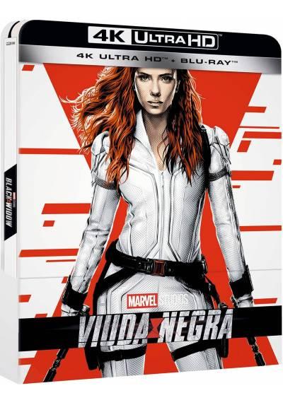 Viuda Negra Steelbook 4k UHD (Blu-ray) (Black Widow)