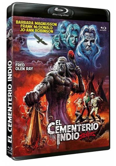 El cementerio indio (Blu-ray) (Scalps)