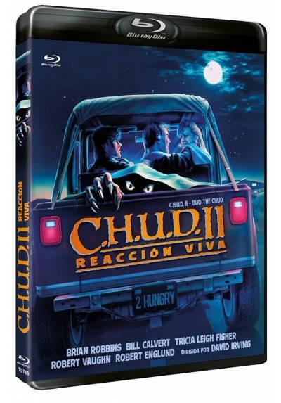 CHUD II Reaccion Viva (Blu-ray) (CHUD II Bud he Chud)