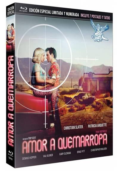 Amor a Quemarropa (Blu-ray) Edicion especial con Funda + Postales + Tatoo (True Romance)