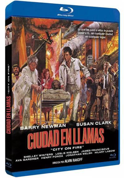 Ciudad en llamas (Blu-ray) (City on Fire)
