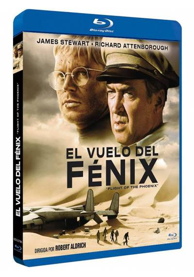 El vuelo del Fenix (Blu-ray) (The Flight of the Phoenix)