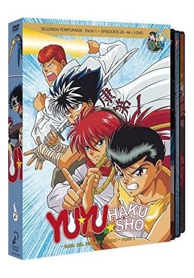 Yu Yu Hakusho Box 2 - La Saga Del Torneo Oscuro. 2ª Temporada Parte 1