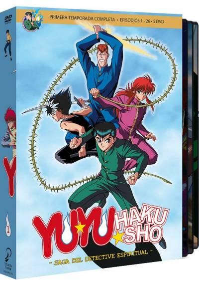 Yu Yu Hakusho Box 1 - La Saga Del Detective Espiritual. 1ª Temporada Completa