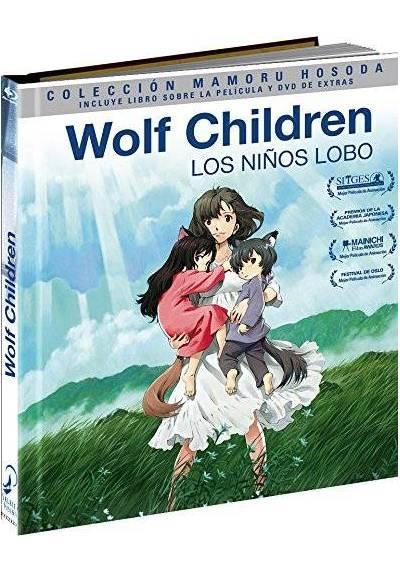 Wolf Children (Blu-Ray + Dvd + Libro) (Ed. Coleccionista) (Los Niños Lobo)