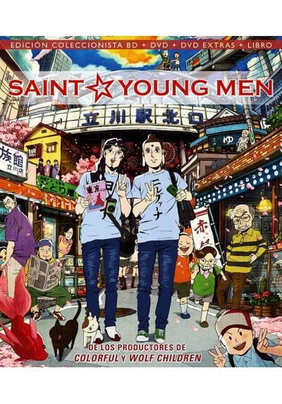 Saint Oniisan (Blu-ray+ DVD + DVD Extras + Libro) (Las vacaciones de Jesus y Buda)