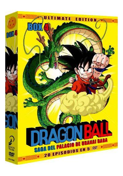 Dragon Ball Box 4 - Saga del Palacio de Uranai Baba
